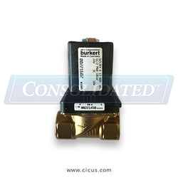 Burkert Type 6213 \ 2/2-Way Solenoid Valve \ Normally Closed (221602)