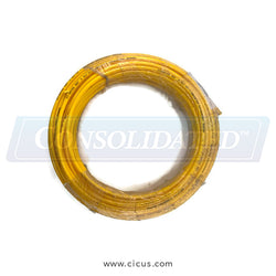 "CIC Yellow 1/4"" O.D .170 I.D X 100 Foot Nylon Tubing [234-0940100]"