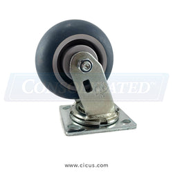 "CIC 5"" Medium/Heavy Duty Swivel Caster (27TP50JX0417YY)"