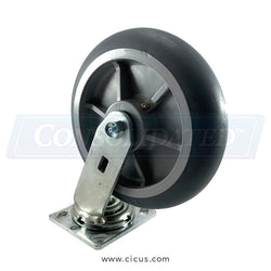 "CIC 8"" Medium/Heavy Duty Swivel Caster (27TP80JX0417YY)"