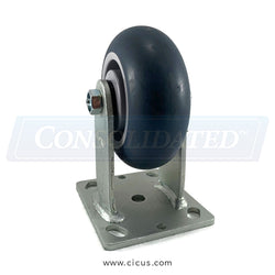 "CIC 5"" Medium/Heavy Duty Rigid Caster (28TP50JX0417YY)"
