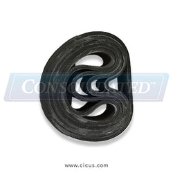 Sharper Finish Rubber Crown 3 Inch (316Z905)