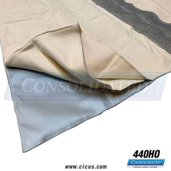 "Coronet Wax & Clean Cloth w/ Mesh Strip - 72"" x 120"" (440HO)"