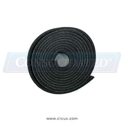 "Milnor Neo Rubber Strip 1/8"" x 1"" CLS - Sold By The Foot [60A003B]"