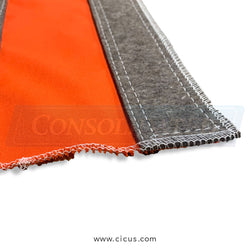 "Coronet Nomex Orange Clean Cloth - 60"" x 72"" (8806)"