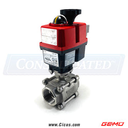 Gemu Motorized Type 728 Ball 2/2-way body Valve [88617820]