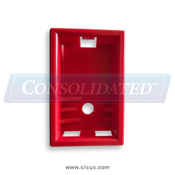 American Laundry Machinery / AJAX Red Button Housing (A28485)