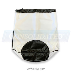 Coronet Industrial Lint Bag w/ Wrap Around Zipper (Choose Size)