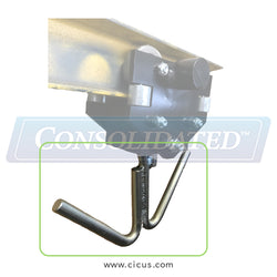 Speed Check Trolley Replacement Hook - Double / Parallel To Track (SC100-PLHK)