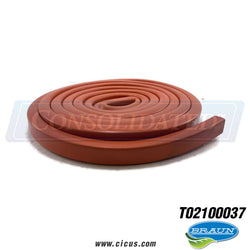 GA Braun Seal Door Silicone Hollow (T15082) [T02100037]
