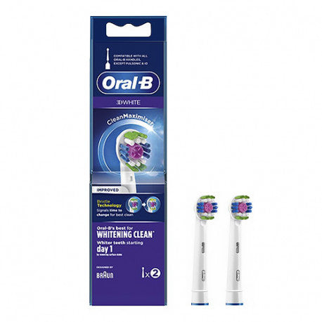 repuestos oral b 3D white blanqueamiento dental carroussel