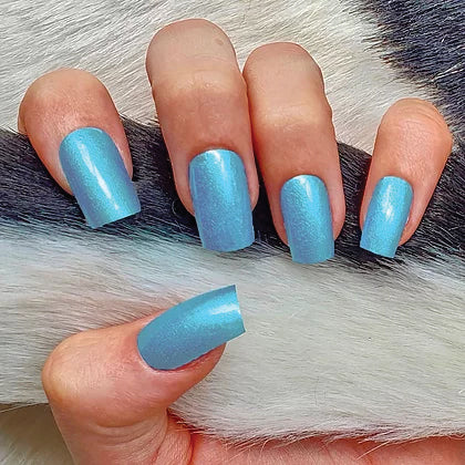 SISTACO NAIL POWDER - BABY BLUE