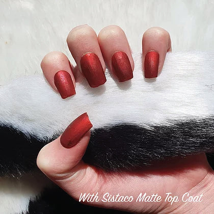 SISTACO NAIL POWDER - CHERRY