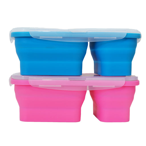 FLAT STACKS FOOD STORAGE CONTAINER SET (2 LUNCH BOXES) - oceansales.ca