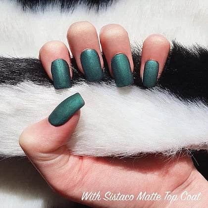SISTACO NAIL POWDER - FOREST GREEN