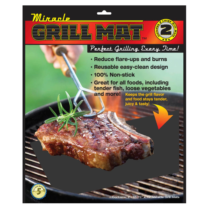 MIRACLE GRILL MAT 2-PACK - oceansales.ca