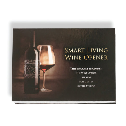 SMART LIVING WINE OPENER KIT - oceansales.ca