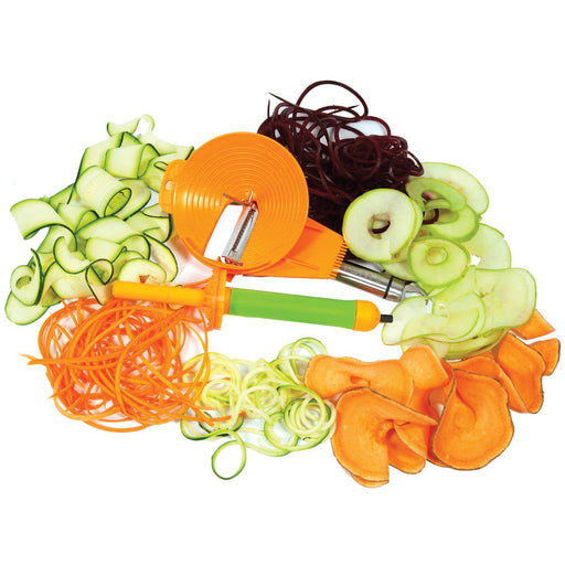 Spiralizer Vegetable Slicer, Spiralizer Vegetable Slicer, Spiralizer Vegetable Slicer Peeler Side One, Spiralizer Vegetable Slicer Peeler Side Two, Spiralizer Vegetable Slicer Inserting