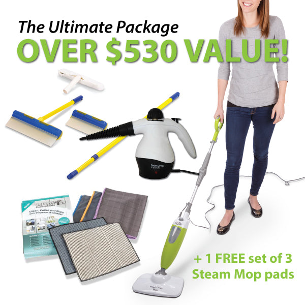 ULTIMATE AQUABLADE + SMART LIVING CLEANING PACKAGE