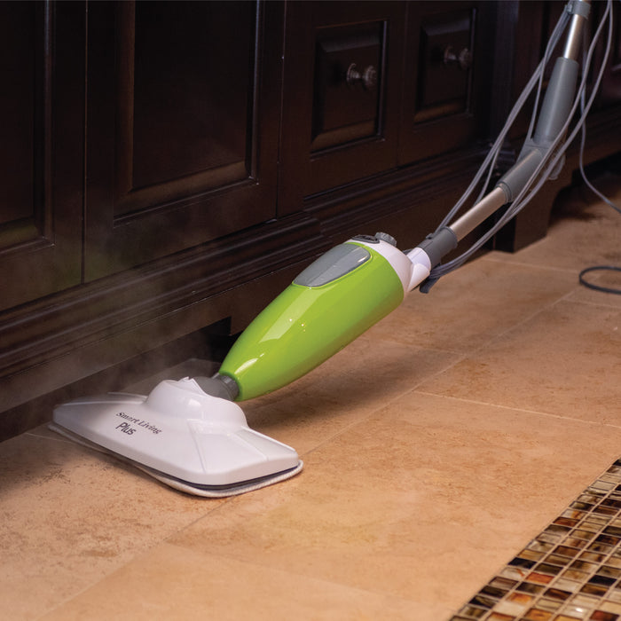 SMART LIVING STEAM MOP PLUS & STEAM JR. BUNDLE (+ BONUS)