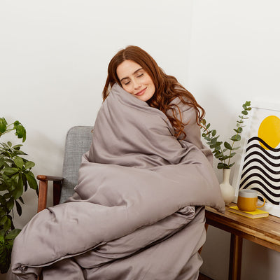 Mela Chill Eucalyptus Weighted Blanket Cover