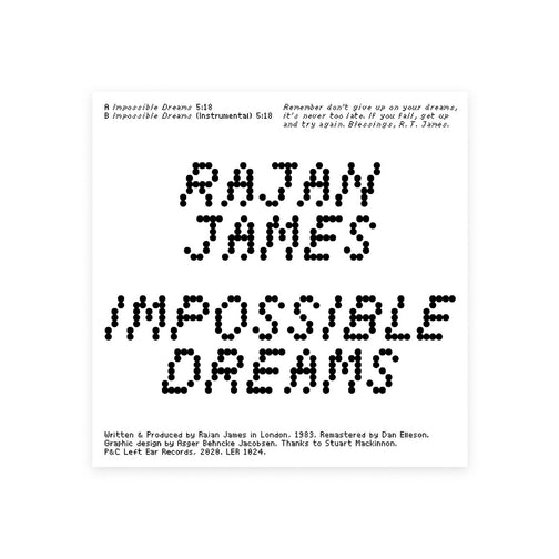 RAJAN JAMES - IMPOSSIBLE DREAMS 12""
