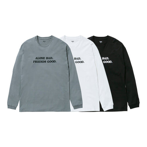 ALONE BAD, FRIENDS GOOD. L/S T-SHIRT