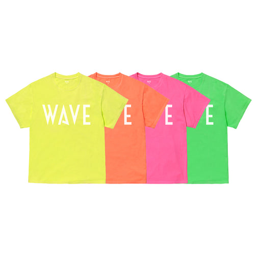 WAVE NEON COLOR T-SHIRT