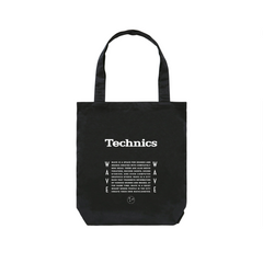 WAVE × Technics LITHOGRAPHY RECORD BAG