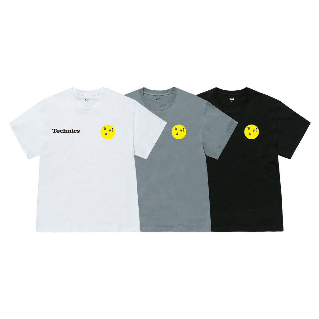 WAVE × Technics LITHOGRAPHY T-SHIRT