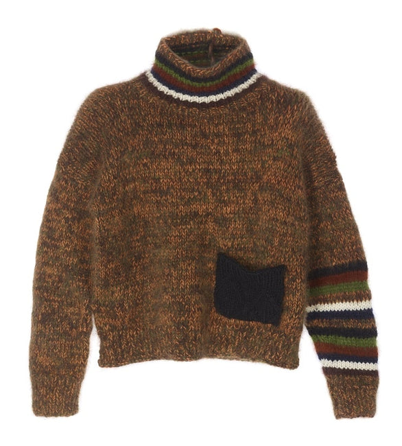 Limited edition multicolor oversized sweater