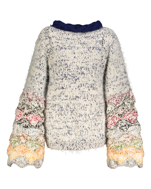 Limited edition multicolor sweater