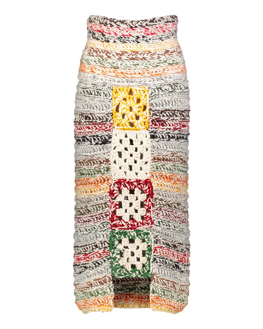 Limited edition skirt with granny stitch