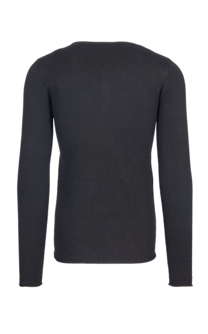 sweater with v neck and buttons