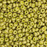 11/0 Miyuki SEED Bead - Matte Opaque Golden Olive Luster