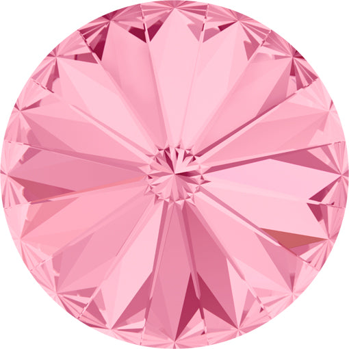 Swarovski 1122 14mm Foiled RIVOLI - Light Rose