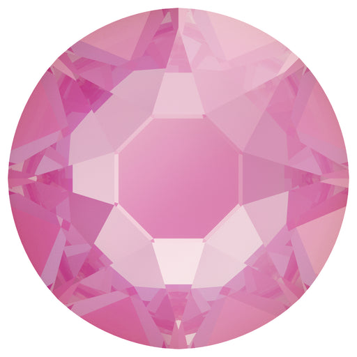 Swarovski 2078 XIRIUS ROSE SS20 Silver-Foiled Hotfix Flat Backs - Electric Pink Delite***