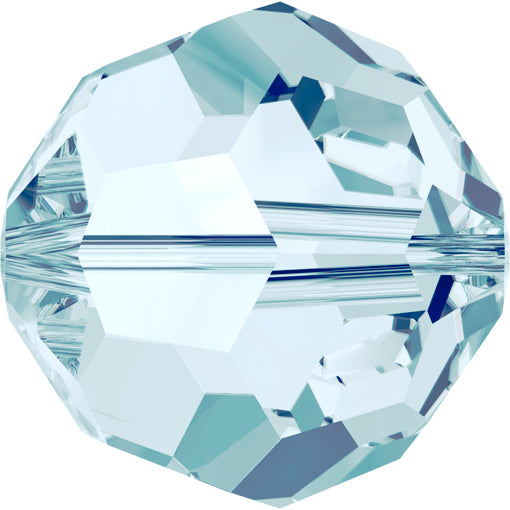 Swarovski 5000 6mm FACETED ROUND Bead - Light Azore