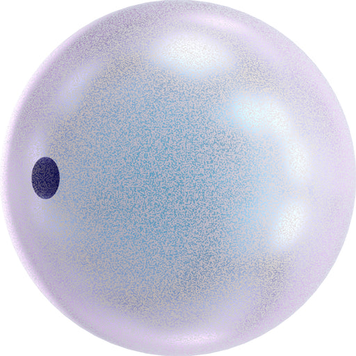 Swarovski 5810 8mm Round Pearls - Iridescent Dreamy Blue