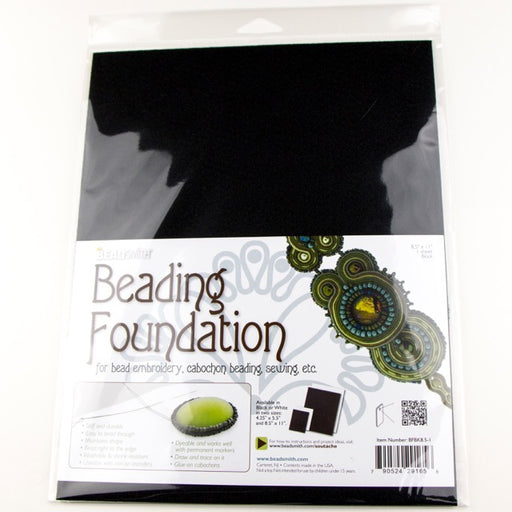 8.5x11inch Bead Smith Beading Foundation - Black