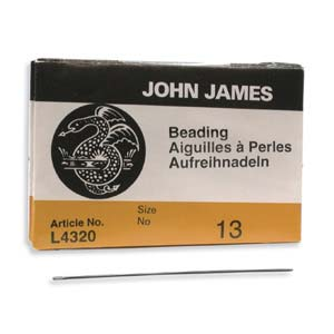 #13 John James Fine Beading Needles (Pack of 25)