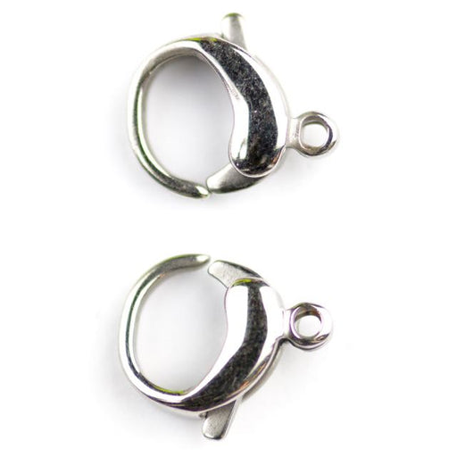 9mm x 12mm Lobster Claw Clasp - Stainless Steel