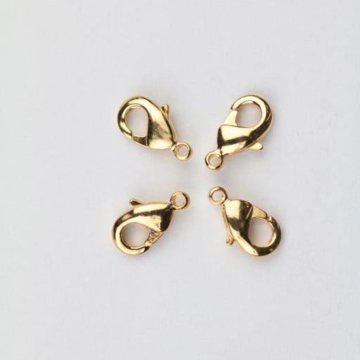 9mm x 5mm Lobster Claw Clasp - Gold