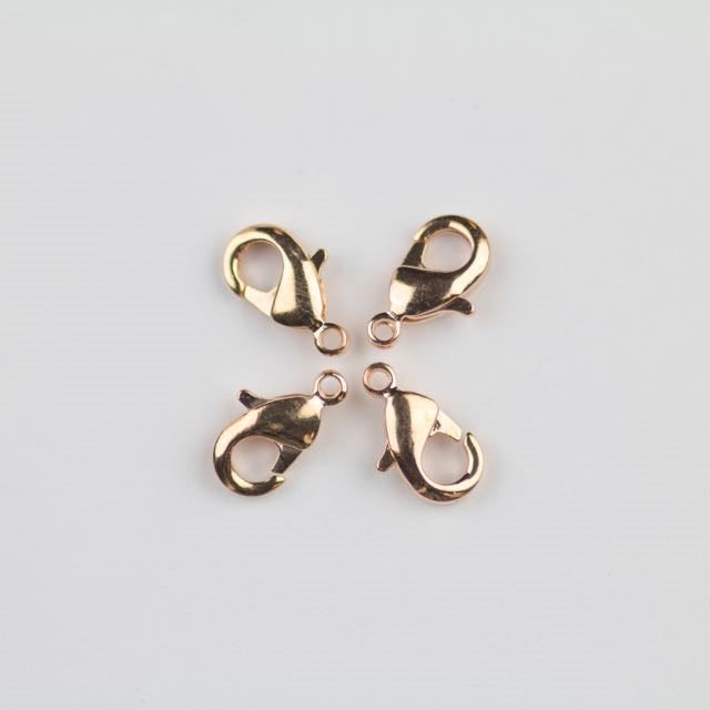 9mm x 5mm Lobster Claw Clasp - Rose Gold