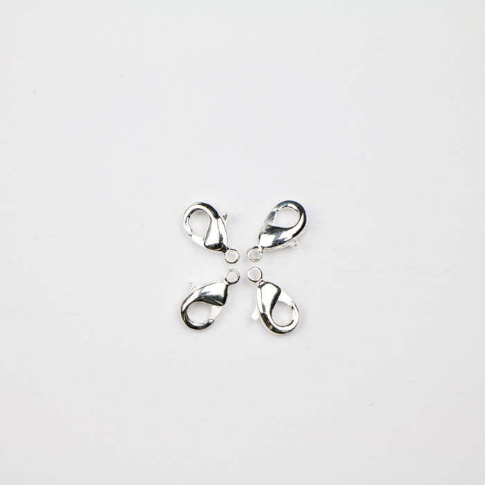 9mm x 5mm Lobster Claw Clasp - Silver