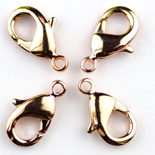 12mm x 7mm Lobster Claw Clasp - Rose Gold