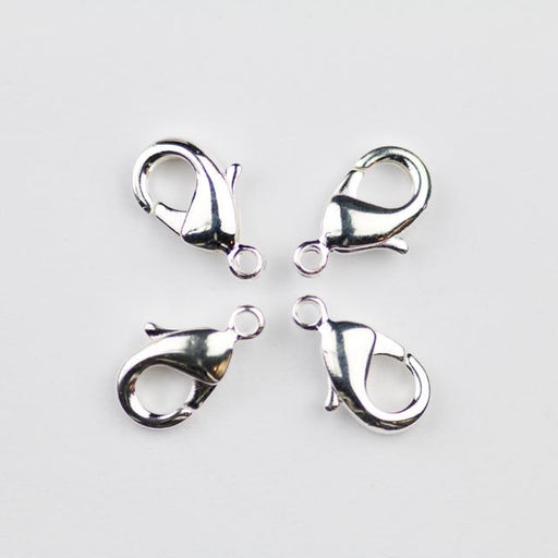 12mm x 7mm Lobster Claw Clasp - Silver