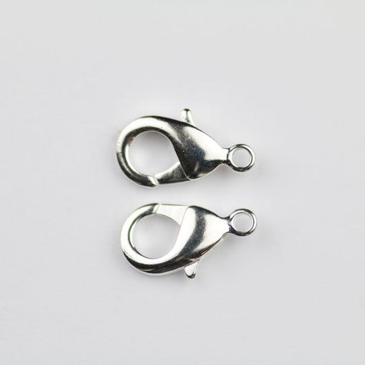 15mm x 9mm Lobster Claw Clasp - Silver