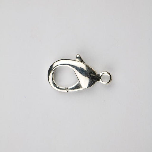 27mm x 17mm Lobster Claw Clasp - Silver