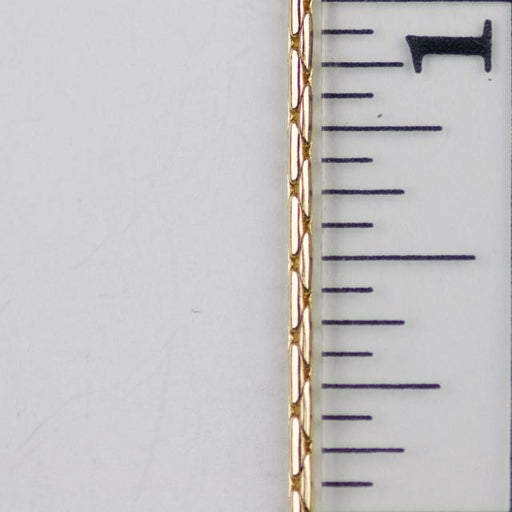 1.25mm Beading Chain - Gold